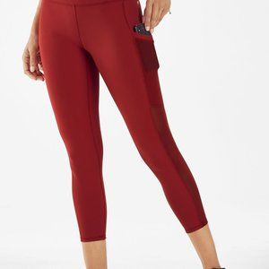 Fabletics  Red Mila High-Waisted Pocket Capri